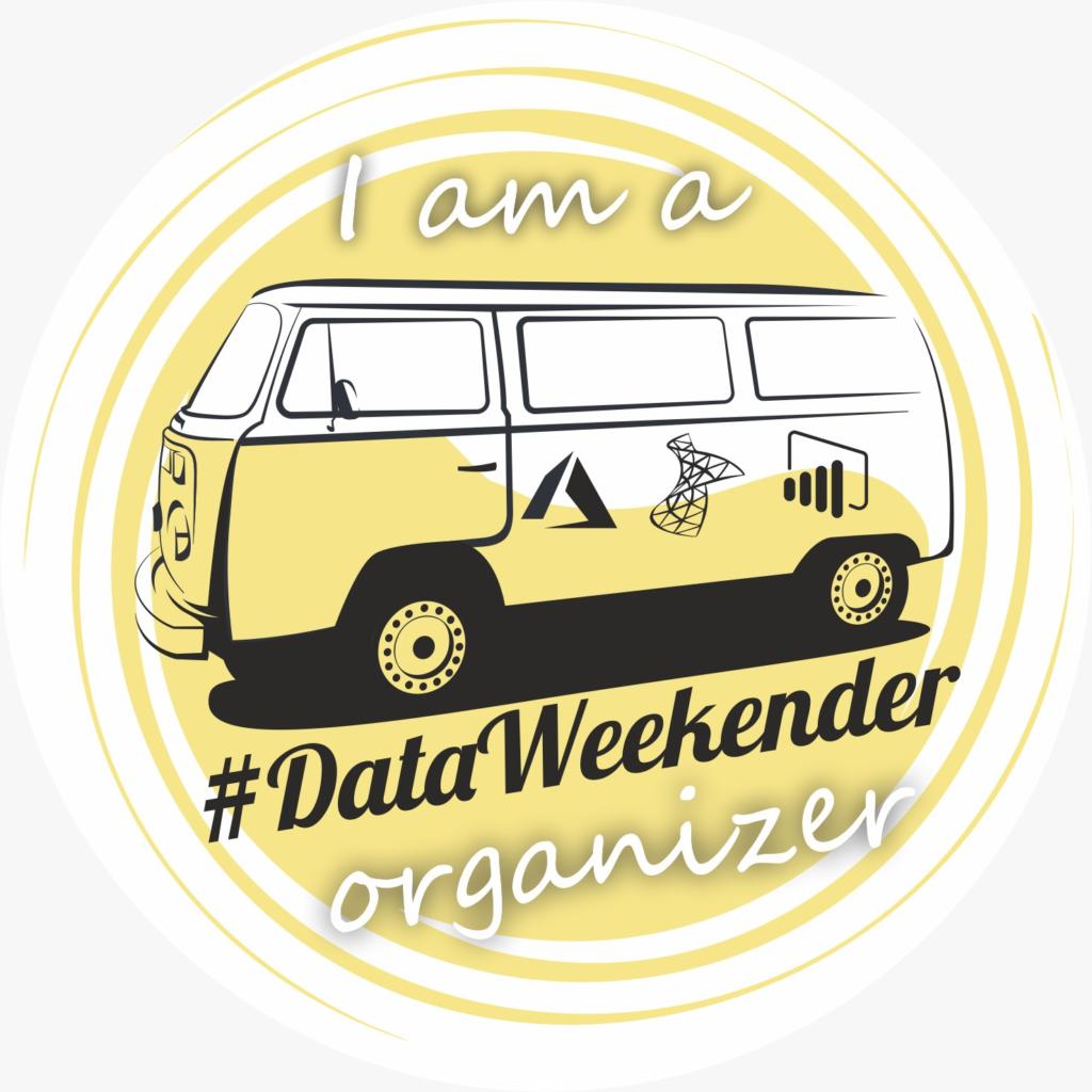 DataWeekender organizer badge